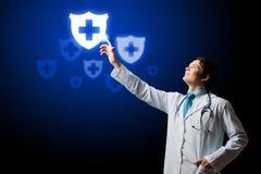 Medico maschio fotografia stock libera da diritti