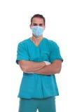 Medico maschio bello Fotografie Stock Libere da Diritti
