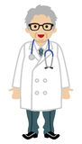 Medico maschio - Gray Hair Immagini Stock