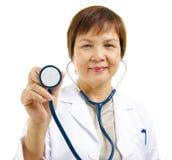 Medico maturo Fotografie Stock Libere da Diritti