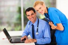 Medico medico dell'infermiere fotografia stock