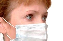 Medico nella mascherina Fotografie Stock Libere da Diritti