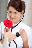 Medico nella scossa Immagini Stock