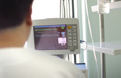 Medico prima del video medico fotografia stock libera da diritti