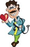 Medico sorridente. Fotografie Stock Libere da Diritti