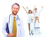 Medico sorridente fotografia stock libera da diritti
