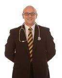 Medico sorridente Fotografie Stock