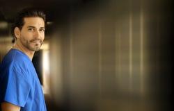 Medico sorridente Immagine Stock Libera da Diritti