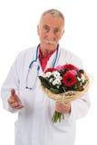 Medico sta dando le scuse Immagine Stock