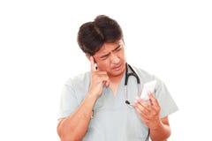 Medico stanco Immagine Stock Libera da Diritti