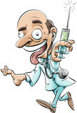 Medico strambo Fotografia Stock Libera da Diritti