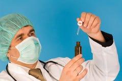 Medico sul lavoro Immagini Stock Libere da Diritti