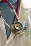 Medico sulla chiamata Fotografia Stock Libera da Diritti