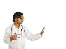 Medico sulla rottura Immagini Stock