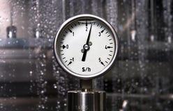 Medida - dólar por a hora Imagens de Stock