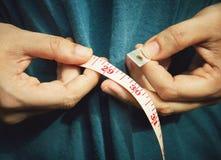 Medida de cintura Imagens de Stock Royalty Free