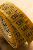 Medida de fita Foto de Stock Royalty Free
