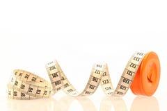 Medida de fita flexível Imagem de Stock Royalty Free