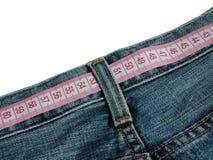 Medida de la cintura Imagenes de archivo