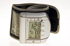 Medida de la presión arterial fotos de archivo