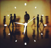 Medida do conceito do alarme do pulso de disparo da gestão de tempo fotos de stock royalty free