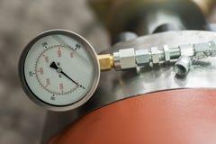 Medida do indicador do sistema para monitorar a circunstância fotos de stock