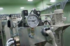 Medida do indicador do sistema para monitorar a circunstância imagem de stock