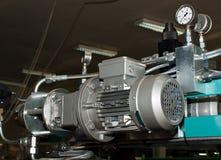 Medida elétrica e da pressão Fotografia de Stock