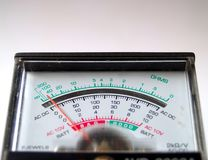 Medida eletrônica Foto de Stock