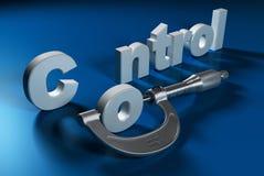 Medida mecânica, controle da qualidade ilustração royalty free