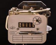 Medida velha da eletricidade do dispositivo Imagem de Stock Royalty Free