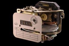 Medida velha da eletricidade do dispositivo Imagem de Stock