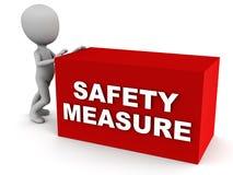 Medidas de segurança Foto de Stock