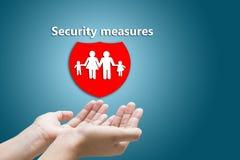 Medidas de segurança fotos de stock