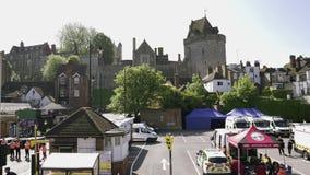 Medidas de seguridad - la ambulancia, bombero, emergencia acarrea a Windsor Castle