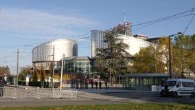 Medidas de seguridad para la visita oficial de Emmanuel Macron en Estrasburgo, Francia