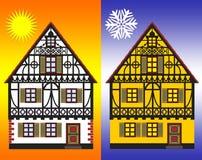 Medidas do uso eficaz da energia Imagens de Stock Royalty Free