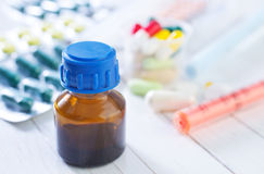 Medidine bottle Stock Photo