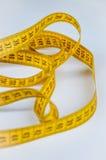 Medidor amarelo do alfaiate Imagem de Stock