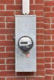 Medidor bidirecional comercial da energia hidráulica de TOU Fotos de Stock