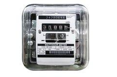 Medidor contrário da eletricidade Imagens de Stock Royalty Free