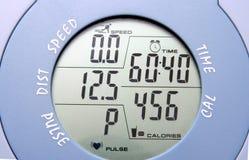 Medidor da bicicleta da ginástica Imagem de Stock