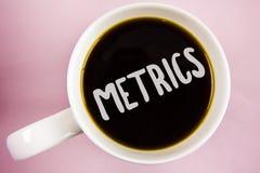 Medidor da escrita do texto da escrita Método do significado do conceito de medir algo grupo dos medidores do estudo de números p imagens de stock royalty free