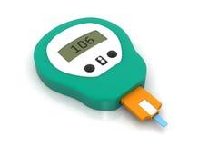Medidor da glicose Foto de Stock