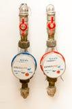 Medidor de água Fotos de Stock Royalty Free