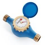 Medidor de água Imagem de Stock