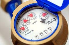 Medidor de água Foto de Stock