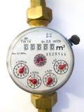 Medidor de água empoeirado velho Imagem de Stock