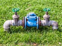 Medidor de água principal Imagem de Stock Royalty Free