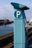 Medidor de estacionamento Imagem de Stock Royalty Free